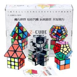 Zcube Puzzle magiczna prędkość Cubo Magico profesjonalne zestaw lustro 3x3 2x2 magiczna kostka zestaw z prezentem pudełkiem 2018 nowy