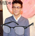 5pcs/lot New arriving  Free shipping round eye vintage glasses men clear lens eyeglasses eyewear optical frames 3016 eyeshape