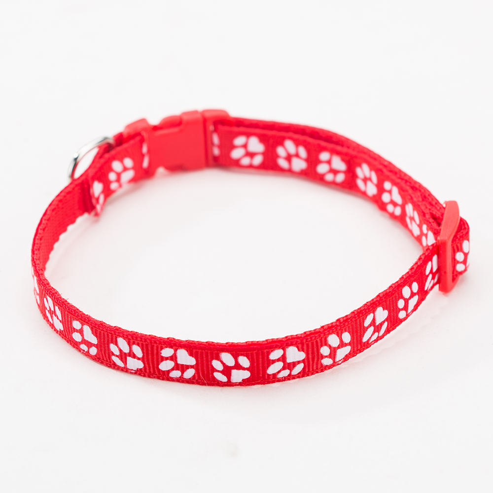 Hipidog Pet Collar Adjustable Dog Collar With Buckle Puppy Collar Pet Supplies Collars For Small Dogs Cats Chihuahua Teddy in Collars from Home Garden