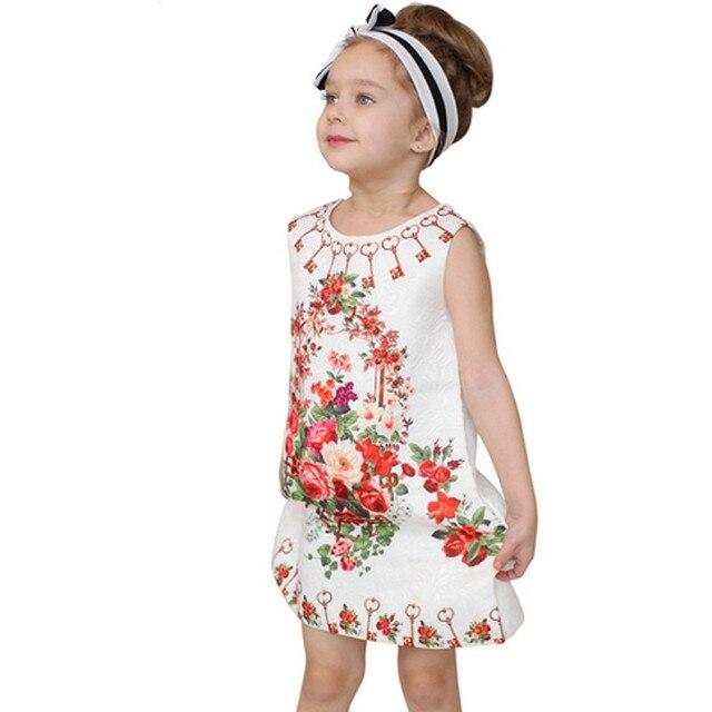 2017 Children's Clothing Wholesale Boutique Girls Flower high ...