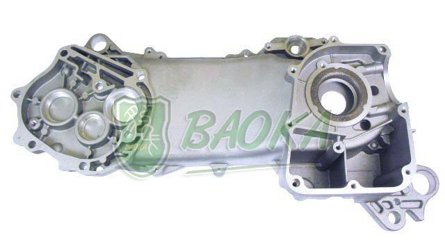 ФОТО Panther Card 4 stroke GY6 50 60 80CC left engine crankcase casing length heroic