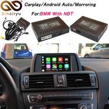 2019 חדש IOS Mirrorlink רכב Apple Airplay אנדרואיד אוטומטי CarPlay תיבת עבור BMW 1 2 3 4 5 7 סדרת x3 X4 X5 X6 מיני NBT OS