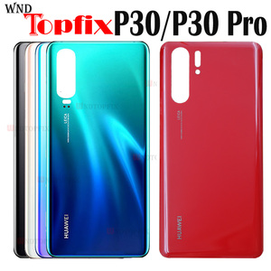 For Huawei P30 ELE-L09 L29 Back Battery Cover Rear Glass Door Housing Case For Huawei P30 Pro VOG-L04 Battery Cover With Glue