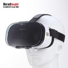 Fiit 2Nแว่นตาเสมือนจริงVRกล่องสำหรับมาร์ทโฟนVRชุดหูฟังของG Oogleกระดาษแข็งGafas De Realidadเสมือนหุ่นยนต์C Ajasกล่อง