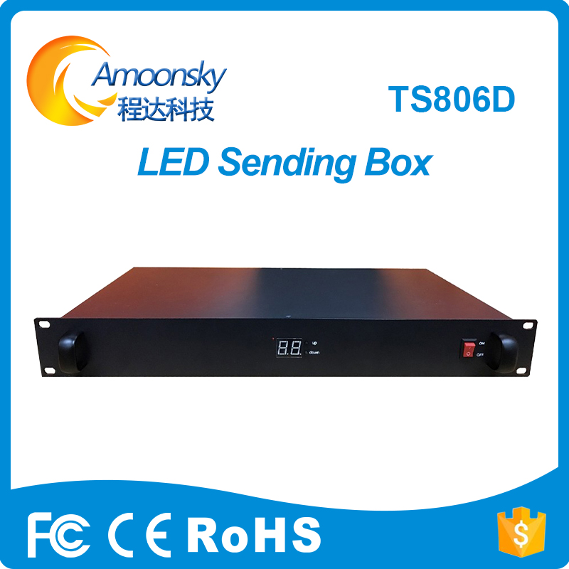 new design linsn control system linsn ts806d led sending box for led video screen