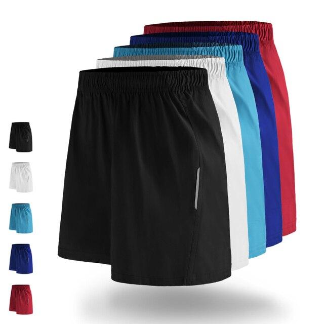 Esportes homens Correndo Tênis de Fitness Workout Gym Shorts Quick Dry  Calções De Treinamento de Futebol 6fed3c3f39ac9