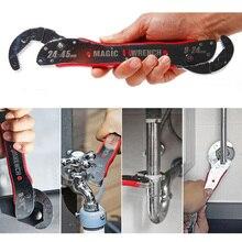 9-45mm Adjustable Multi Purpose Magic Spanner Tools Universal Wrench Pipe Adjustable Spanner Adjustable Grip Wrench 1 pc