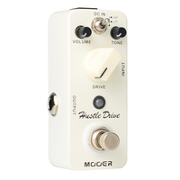 Mooer Hustle Drive Distortion Electric Guitar Effects Pedal Pedal True Bypass Micro Series MDS2