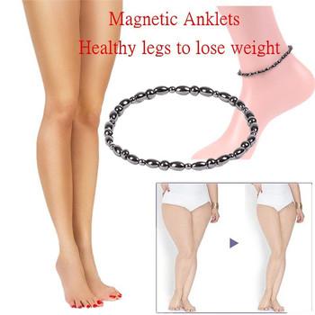 1 sztuk magnetyczne odchudzanie Anklet mężczyźni i kobiety odchudzanie stóp pierścień anty cellulit bransoletka kształtowanie sylwetki Fat Burner opieki zdrowotnej tanie i dobre opinie mchpee Pierścień magnetyczny toe 1pcs SA3077 Utrata masy ciała kremy Magnetic slimming Anklet 5cm* 5cm*2cm black Magnetic therapy slimming