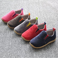 Insole12.5~17.5cm children shoes for baby boys  shoes girls canvas shoes child casual shoes slip on
