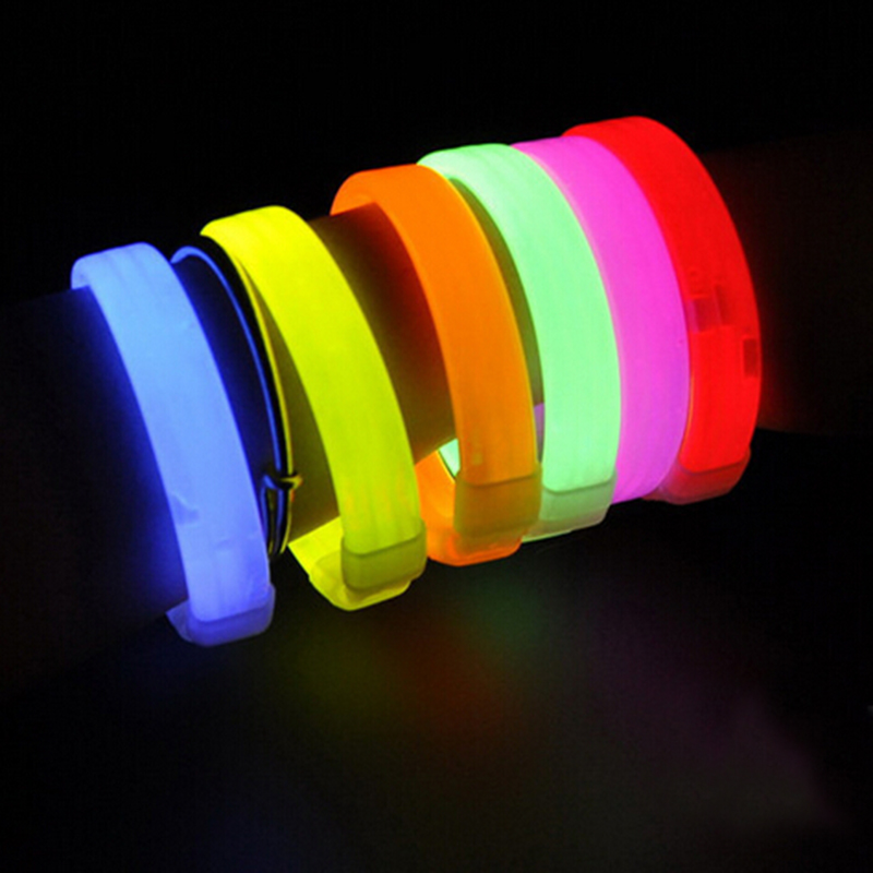 Sound Controlled Led Light Up Bracelet Activated Glow Flash Bangle For Festival Party Glow Party Supplies