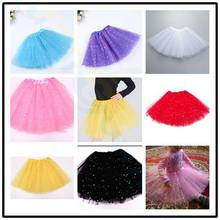 Children Day baby clothes shiny pink tutu skirt kids princess girls skirt ball gown pettiskirts birthday party kawaii skirts недорого