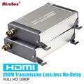 HSV379 HDMI По Коаксиальному Extender Поддержка 1080 P HDMI По Одной RG59/RG-6U Коаксиальный Кабель Extender Для DVR, DVD, домашний Кинотеатр