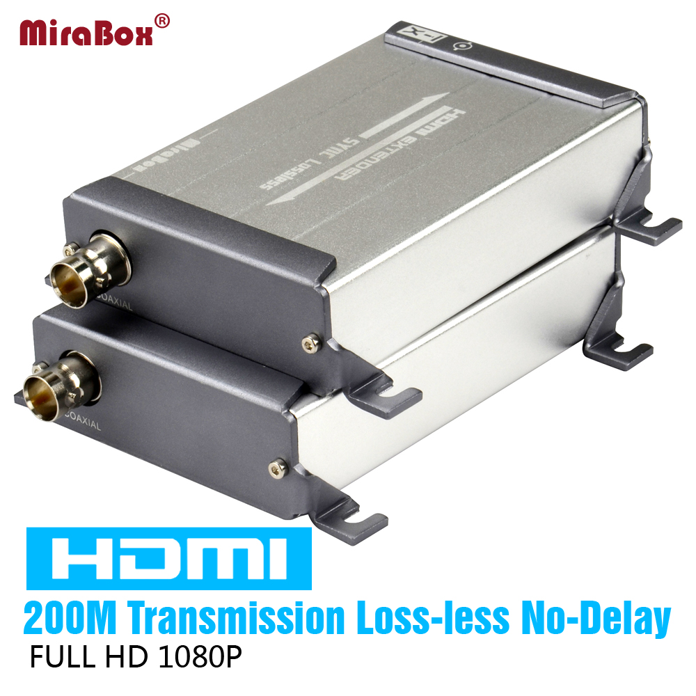 hight resolution of hsv379 hdmi over coaxial extender support 1080p hdmi over single rg59 rg 6u coax cable extender for dvr dvd home theater