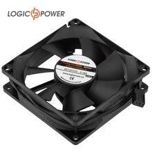 LOGIC POWER Вентилятор для корпуса F8NB, 80 мм, 3pin, черный #2063