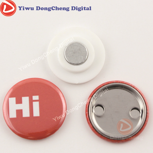 75MM badge materials with magnetic,hot sale buttion badge materiasl handbook of magnetic materials 20