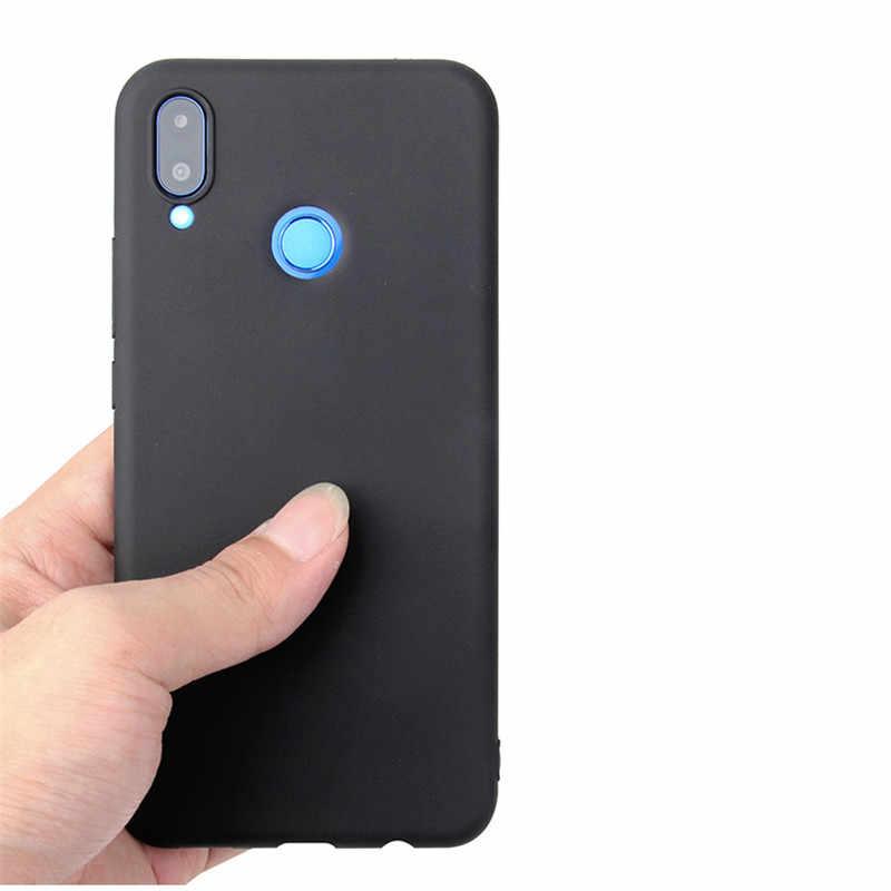 Candy Color Case for Huawei P Smart Plus Nova 3i Soft Full Cover For Huawei P Smart 2019 Nova 4 4E 3 3E 2S 2 Plus Lite Cases