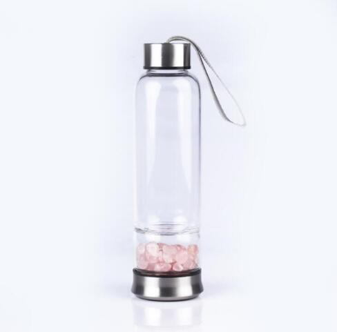 Glass-Water Gravel-Bottle Crystal Launch New-Product Quartz Wholesale Gift Rose Cup Irregularity