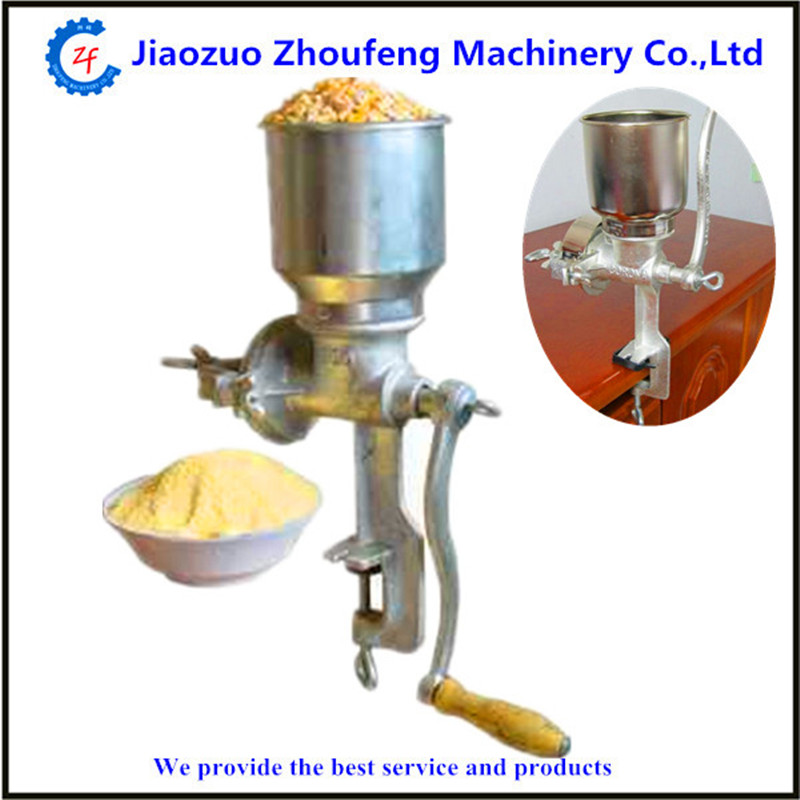 Flour milling machine wheat maize corn mill machine ZF corn flour mill rice milling machine home use manual pepper soybean wheat coffee bean grinder grinding machine zf