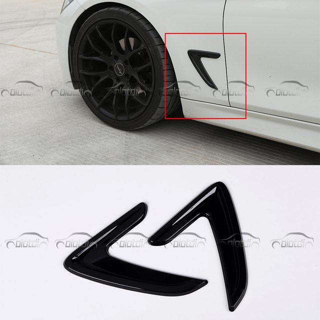 OLOTDI for BMW 3 Series 2012-2013 318 320 328 330 Car Styling Body stickers ABS 2pcs