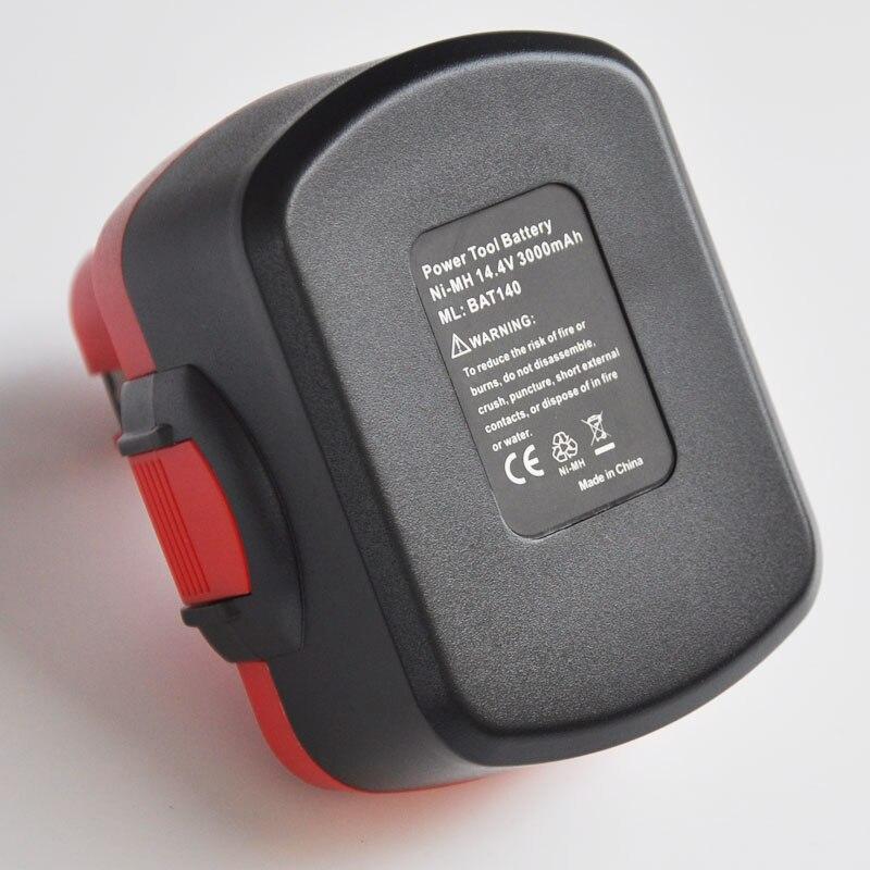 Batterie Rechargeable 14.4 V Ni-MH 3000 mah pour perceuse électrique sans fil Bosch BAT038 BAT040 BAT041 BAT140 BAT159