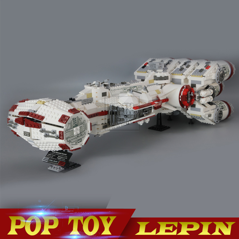 Lepin 05046 Star 1748Pcs Series Wars The Tantive IV Blockade Runner 10019 Educational Building Blocks Bricks for Boy's DIY toy sme series iv