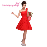 robes de soiree short red sleeveless day dress parties party one shoulder blue semi formal prom dresses under $50 W1181