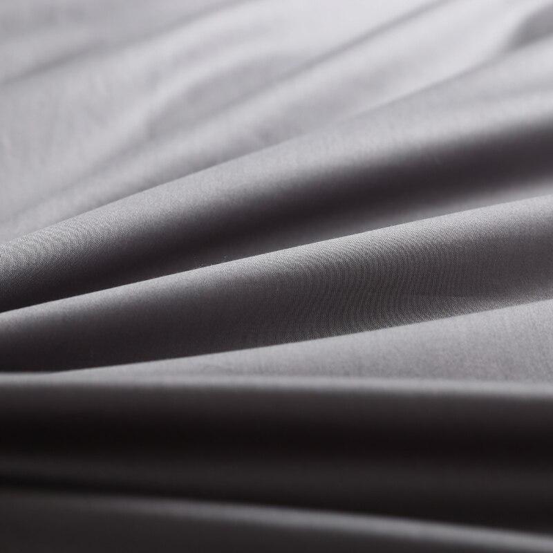 4/6 pièces 600TC coton égyptien housse de couette drap de lit ensemble reine roi taille Ultra doux Style Simple hôtel literie ensemble couleur Beige-in Ensembles de literie from Maison & Animalerie    3