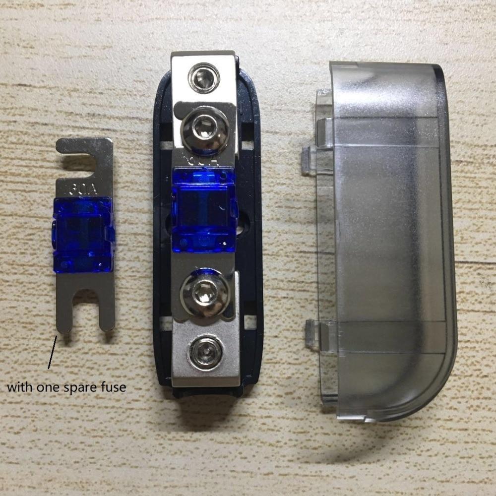 3 pcs PREMIUM 150 Amp MINI ANL Fuses for Car Fuse holder MANL w// BLUE LED 150A