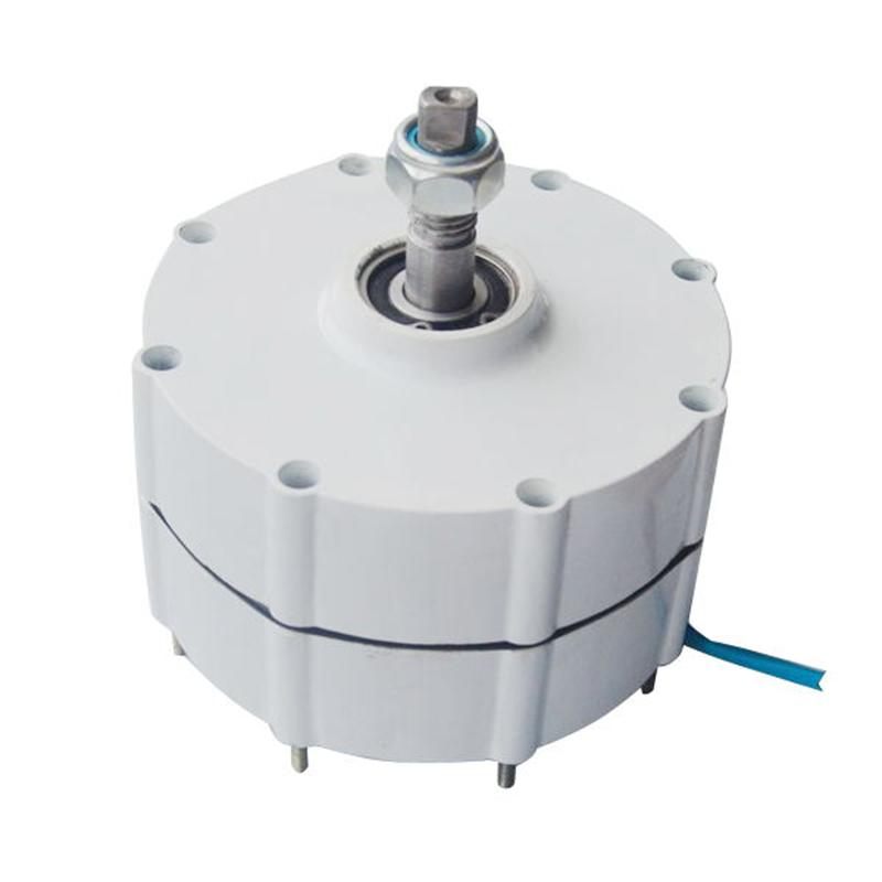 500w low rpm three phase ac output permanent magnet generator alternator