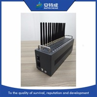Antecheng gsm edge quad band 16 портов модемного пула Sierra SL6087 модем для sms и подзарядки