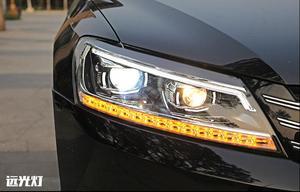Image 2 - 2pcs dynamic VideoCar Styling for Passat B7 Headlights 2011 2012 2015 America Passat CC LED Headlight DRL Bi Xenon Lens