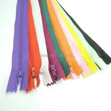 20 unids/lote Color de Nylon de la Bobina Cremalleras Tailor Alcantarillado Craft 9 Pulgadas cremallera