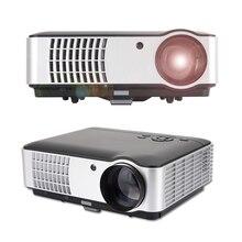 Rigal RD-806 Full HD 1080 p Negocios y Educación, Hogar LLEVÓ el Proyector Del Teatro vienen con HDMI TV VGA AV función