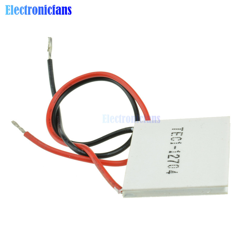 Slim TEC1-12704 12V Heatsink TEC Thermoelectric Cooler Peltier 30mm*30mm GOOD