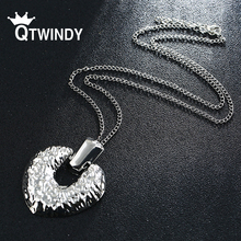 QTWINDY Gometric Metal Choker Necklace Female Pendant Necklaces for Women Gold Silver Rose gold Color 2019 Fashion Jewelry Gift misananryne fashion rose gold silver color crystal necklace butterfly pendant choker necklace for women party jewelry gift