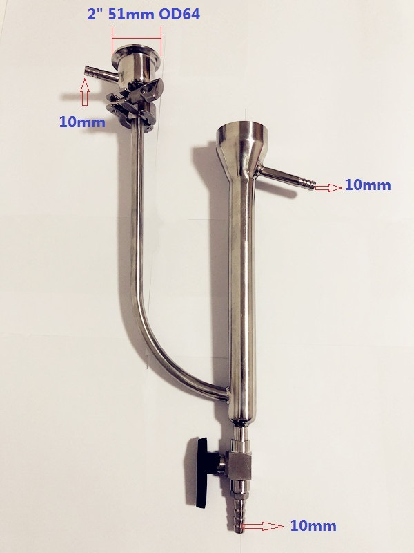 Free Shipping New Type Tri-clamp  Parrot  Body  Connection 2