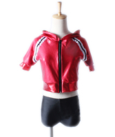 The New Children S Female Sport Suit Sir Two Piece Fission Stages Jazz Girls Dance Costumes