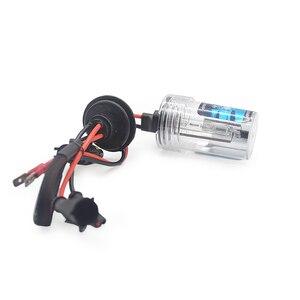 Image 4 - 55W Xenon bulb H1 H3 H7 H11 9005 9006 12V 55W HID Xenon bulb Auto Car Headlight Replacement lamp 4300K 6000K 8000K