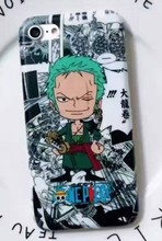 Luffy and Zoro Soft Case for iPhone 7