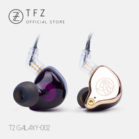 The Fragrant Zither / T2, Hifi monitor headphoens, TFZ Bass Sound Earphone In Ear Sport Headset,3.5mm Earbuds for Huawie Mp3 Dj