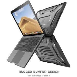 Image 3 - Para macbook ar 13 polegada caso 2018, fino emborrachado tpu amortecedor ub capa para macbook ar 13 polegada a1932 com touch id & retina display