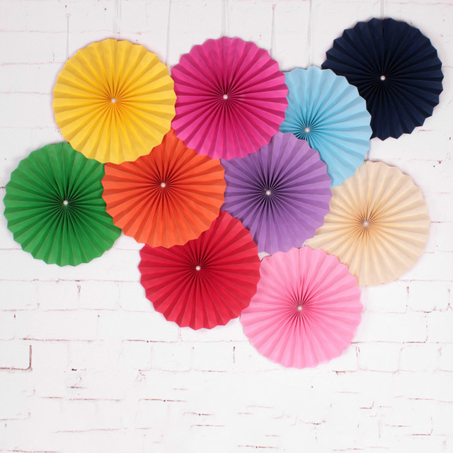Hot sale 1 pcs 30cm paper fans paper craft colorful paper flowers hot sale 1 pcs 30cm paper fans paper craft colorful paper flowers origami wedding home baby mightylinksfo