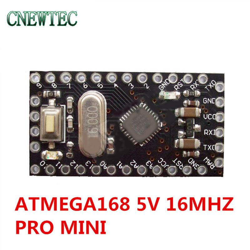 10pcs Pro Mini 168 Mini ATMEGA168 5V/16MHz For Arduino Compatible With Nano BTE13-010B(China)