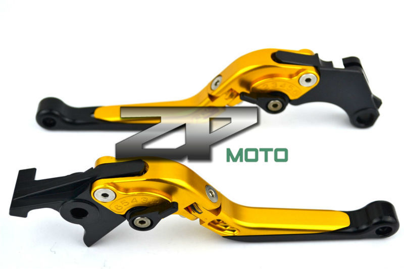 Adjustable Folding Extendable Brake Clutch Levers For Kawasaki ZZR600 ZR750 ZEPHYR ER-5 Z750 Versys 8 Colors adjustable folding extendable brake clutch levers for kawasaki versys 1000 w800 zzr1200 zrx1100 1200 8 colors
