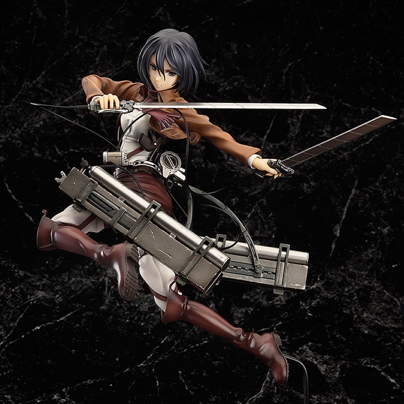 ZHAIDIANSHE anime Mikasa Ackerman PVC action figure 10cm toys gift collectible model Attack On Titan attack on titan anime 17 cm mikasa ackerman battle version pvc anime figure collection doll model toy kids toys pm scene tw18