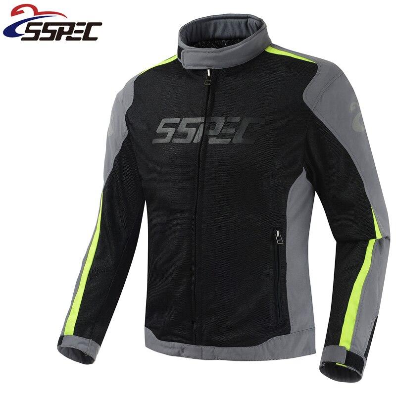 Coupe-vent Moto veste hommes été Moto équipement de protection veste hommes course réfléchissant Oxford vêtements Moto vestes