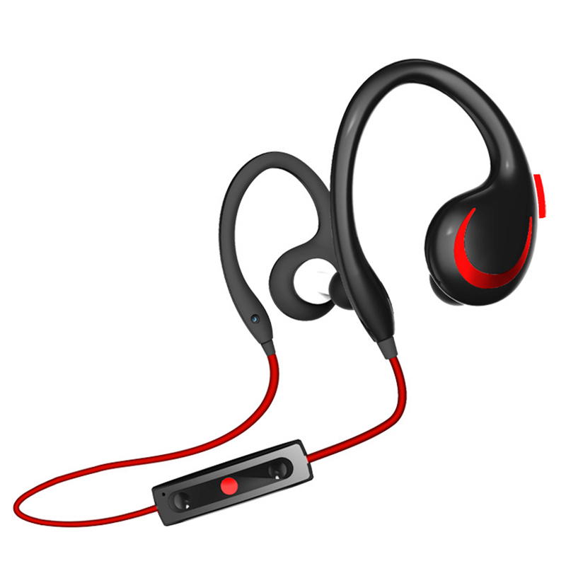 New Design Fashion Comfortable Sports Bluetooth Earphone Stereo HIFI Handsfree Wireless Headphone with Mic for Mobile Phone remax bluetooth v4 1 wireless stereo foldable handsfree music earphone for iphone 7 8 samsung galaxy rb 200hb