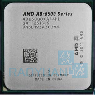 AMD A8 Series A8-6500 A8 6500K A8 6500 CPU AD6500OKA44HL 3.50GHz (4.1GHz Turbo) Desktop CPU Socket FM2
