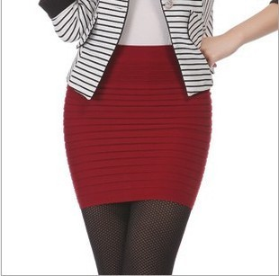 Cheapest Free Shipping New Fashion 2019 Summer Women Skirt High Waist Candy Color Plus Size Elastic Pleated Sexy Short Skirt 2